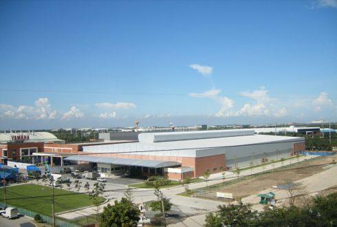 Yamaha Warehouse and Paint Shop